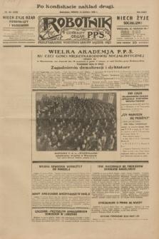 Robotnik : centralny organ P.P.S. R.35, nr 167 (15 czerwca 1929) = nr 3729 (po konfiskacie nakład drugi)