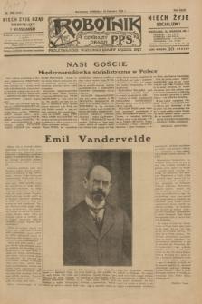 Robotnik : centralny organ P.P.S. R.35, nr 168 (16 czerwca 1929) = nr 3730