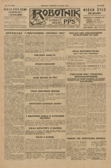 Robotnik : centralny organ P.P.S. R.35, nr 173 (20 czerwca 1929) = nr 3735