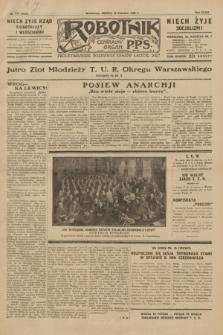 Robotnik : centralny organ P.P.S. R.35, nr 175 (22 czerwca 1929) = nr 3737