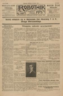 Robotnik : centralny organ P.P.S. R.35, nr 176 (23 czerwca 1929) = nr 3738