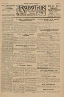 Robotnik : centralny organ P.P.S. R.35, nr 178 (25 czerwca 1929) = nr 3740