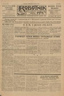 Robotnik : centralny organ P.P.S. R.35, nr 180 (27 czerwca 1929) = nr 3742