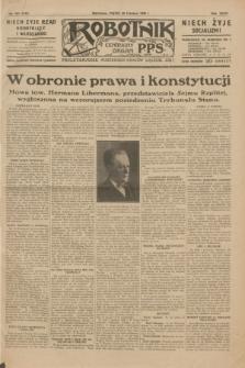 Robotnik : centralny organ P.P.S. R.35, nr 181 (28 czerwca 1929) = nr 3742