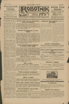 Robotnik : centralny organ P.P.S. R.35, nr 187 (5 lipca 1929) = nr 3748