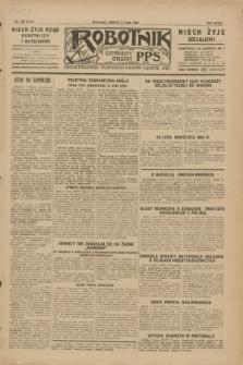 Robotnik : centralny organ P.P.S. R.35, nr 188 (6 lipca 1929) = nr 3749