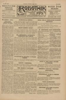 Robotnik : centralny organ P.P.S. R.35, nr 191 (9 lipca 1929) = nr 3752