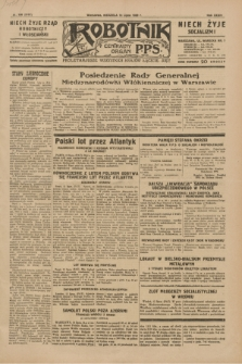 Robotnik : centralny organ P.P.S. R.35, nr 196 (14 lipca 1929) = nr 3757
