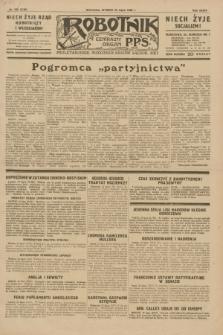 Robotnik : centralny organ P.P.S. R.35, nr 205 (23 lipca 1929) = nr 3766