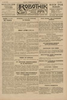 Robotnik : centralny organ P.P.S. R.35, nr 212 (29 lipca 1929) = nr 3772