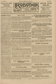 Robotnik : centralny organ P.P.S. R.35, nr 218 (4 sierpnia 1929) = nr 3778