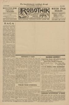 Robotnik : centralny organ P.P.S. R.35, nr 221 (6 sierpnia 1929) = nr 3781 (po konfiskacie nakład drugi)