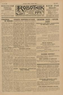 Robotnik : centralny organ P.P.S. R.35, nr 222 (7 sierpnia 1929) = nr 3782