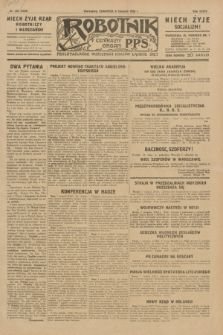 Robotnik : centralny organ P.P.S. R.35, nr 223 (8 sierpnia 1929) = nr 3783