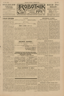 Robotnik : centralny organ P.P.S. R.35, nr 228 (13 sierpnia 1929) = nr 3788