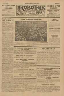 Robotnik : centralny organ P.P.S. R.35, nr 229 (14 sierpnia 1929) = nr 3789