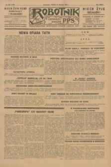 Robotnik : centralny organ P.P.S. R.35, nr 230 (16 sierpnia 1929) = nr 3790