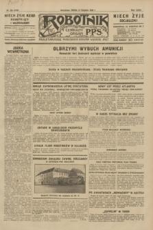 Robotnik : centralny organ P.P.S. R.35, nr 235 (21 sierpnia 1929) = nr 3795
