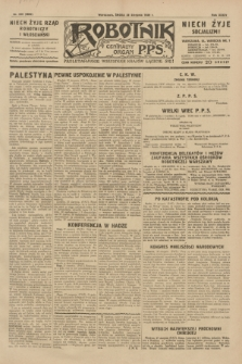 Robotnik : centralny organ P.P.S. R.35, nr 242 (28 sierpnia 1929) = nr 3802