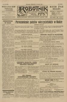 Robotnik : centralny organ P.P.S. R.35, nr 243 (29 sierpnia 1929) = nr 3803
