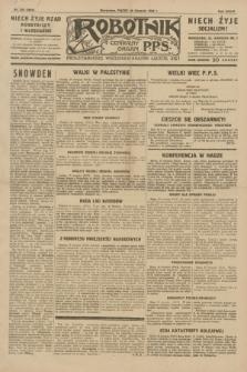 Robotnik : centralny organ P.P.S. R.35, nr 244 (30 sierpnia 1929) = nr 3804