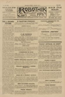 Robotnik : centralny organ P.P.S. R.35, nr 249 (3 września 1929) = nr 3809