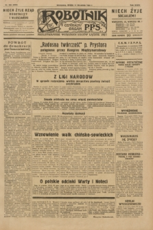 Robotnik : centralny organ P.P.S. R.35, nr 258 (11 września 1929) = nr 3818