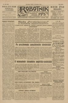 Robotnik : centralny organ P.P.S. R.35, nr 260 (13 września 1929) = nr 3820