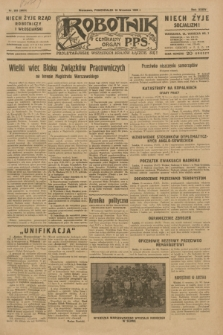 Robotnik : centralny organ P.P.S. R.35, nr 263 (16 września 1929) = nr 3823