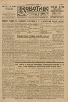 Robotnik : centralny organ P.P.S. R.35, nr 265 (18 września 1929) = nr 3825