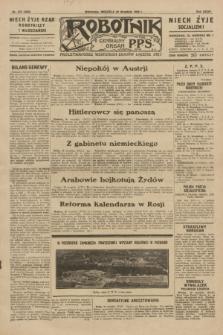 Robotnik : centralny organ P.P.S. R.35, nr 276 (29 września 1929) = nr 3836