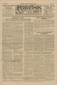 Robotnik : centralny organ P.P.S. R.35, nr 277 (30 września 1929) = nr 3837