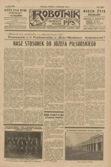 Robotnik : centralny organ P.P.S. R.35, nr 278 (1 października 1929) = nr 3838