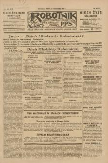 Robotnik : centralny organ P.P.S. R.35, nr 282 (5 października 1929) = nr 3842