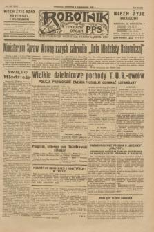 Robotnik : centralny organ P.P.S. R.35, nr 283 (6 października 1929) = nr 3843