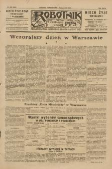 Robotnik : centralny organ P.P.S. R.35, nr 284 (7 października 1929) = nr 3844