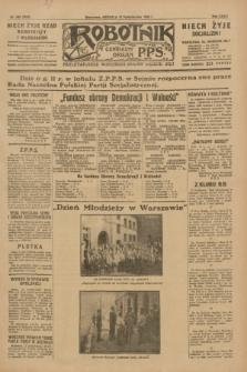Robotnik : centralny organ P.P.S. R.35, nr 290 (13 października 1929) = nr 3850