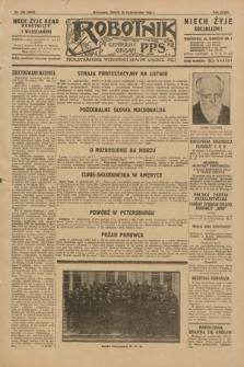 Robotnik : centralny organ P.P.S. R.35, nr 293 (16 października 1929) = nr 3853