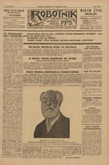 Robotnik : centralny organ P.P.S. R.35, nr 294 (17 października 1929) = nr 3854