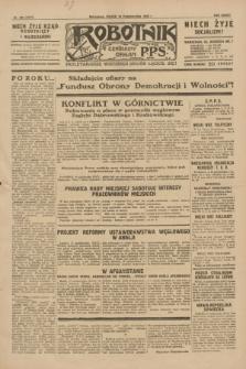 Robotnik : centralny organ P.P.S. R.35, nr 295 (18 października 1929) = nr 3855