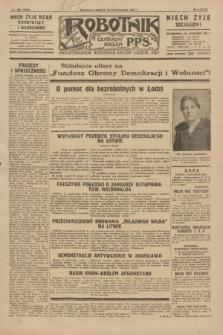 Robotnik : centralny organ P.P.S. R.35, nr 296 (19 października 1929) = nr 3856