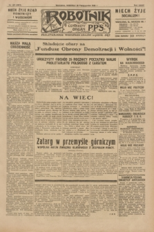 Robotnik : centralny organ P.P.S. R.35, nr 297 (20 października 1929) = nr 3857