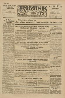Robotnik : centralny organ P.P.S. R.35, nr 300 (22 października 1929) = nr 3860