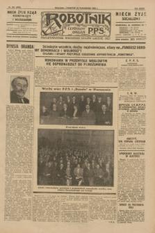 Robotnik : centralny organ P.P.S. R.35, nr 302 (24 października 1929) = nr 3862