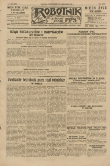 Robotnik : centralny organ P.P.S. R.35, nr 306 (28 października 1929) = nr 3866