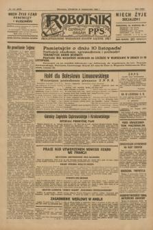 Robotnik : centralny organ P.P.S. R.35, nr 310 (31 października 1929) = nr 3870
