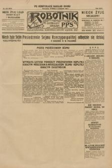 Robotnik : centralny organ P.P.S. R.35, nr 319 (5 listopada 1929) = nr 3879