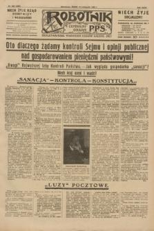 Robotnik : centralny organ P.P.S. R.35, nr 328 (13 listopada 1929) = nr 3888