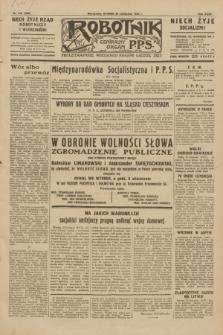 Robotnik : centralny organ P.P.S. R.35, nr 346 (26 listopada 1929) = nr 3906