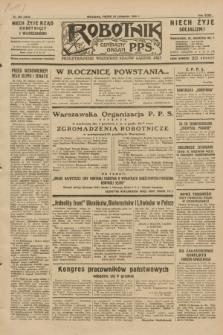 Robotnik : centralny organ P.P.S. R.35, nr 350 (29 listopada 1929) = nr 3910